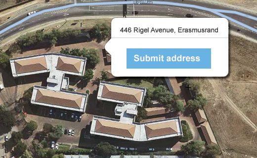Submit Address API
